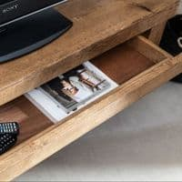 Wansbeck TV Stand | Wooden TV Stand with Hidden Storage